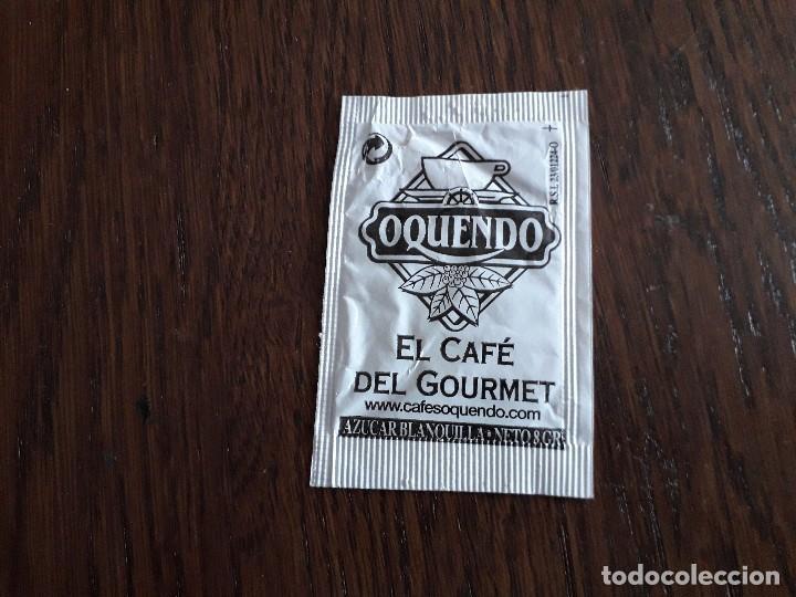Sobres de azúcar de colección: sobre de azúcar vacío de publicidad, café bar el manantial-pub bitácora. San Vicente de la Barquera. - Foto 2 - 245519185