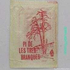 Sobres de azúcar de colección: SOBRE DE AZÚCAR GENÉRICO - EL PI DE LES TRES BRANQUES. ROCA, 10 GR.. Lote 245543780