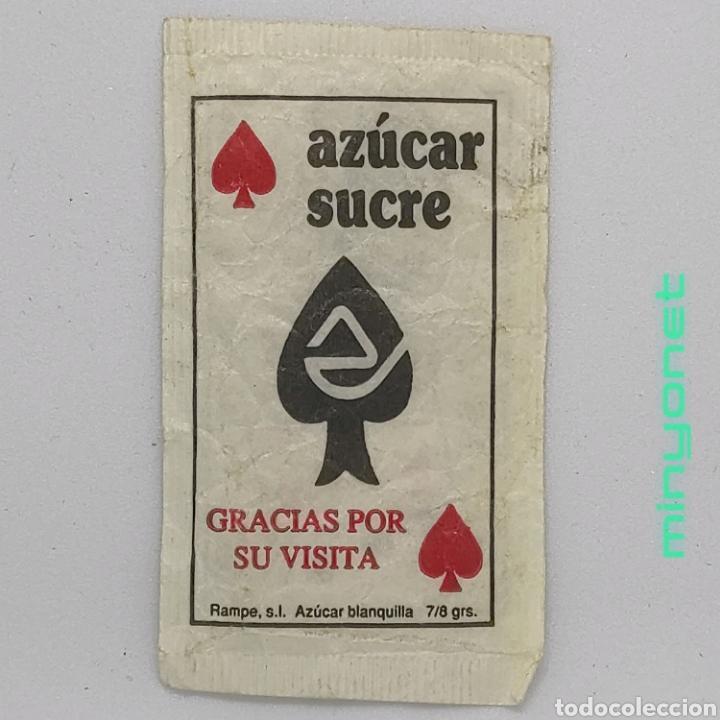 Sobres de azúcar de colección: Sobre de azúcar Serie Poker - Trio de Jotas (azul). Rampe, 7/8 gr. - Foto 2 - 245544825
