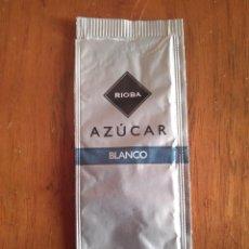 Sobres de azúcar de colección: SOBRE DE AZÚCAR VACÍO DE PUBLICIDAD, RIOBA AZUCAR BLANCO. Lote 251878105