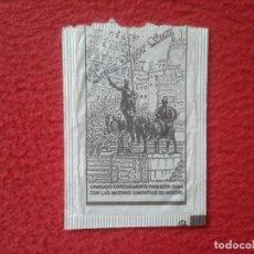 Sobres de azúcar de colección: SOBRE DE AZÚCAR PACKET PACKAGE OF SUGAR SUCRE ZUCKER ZUCCHERO VACÍO DON QUIJOTE LA MANCHA SANCHO..... Lote 254308010