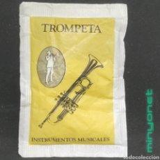 Sobres de azúcar de colección: SOBRE DE AZÚCAR SERIE INSTRUMENTOS MUSICALES - TROMPETA. CAFÉS BRASILIA. 10 GR.. Lote 256118175