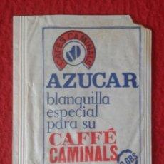Sobres de azúcar de colección: SOBRE DE AZÚCAR PACKET PACKAGE OF SUGAR SUCRE ZUCKER ZUCCHERO VACÍO VENTA DEL BARRO LA PUEBLA HIJAR. Lote 261108765