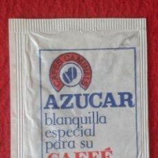 Sobres de azúcar de colección: SOBRE DE AZÚCAR PACKET PACKAGE OF SUGAR SUCRE ZUCKER ZUCCHERO VACÍO VENTA DEL BARRO LA PUEBLA HIJAR. Lote 261109145