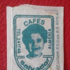 Sobres de azúcar de colección: SOBRE DE AZÚCAR PACKET PACKAGE OF SUGAR SUCRE ZUCKER ZUCCHERO VACÍO CAFÉS SALVADOR ALMERÍA VER FOTOS. Lote 261163980