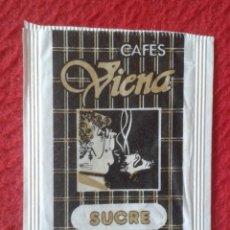 Sobres de azúcar de colección: SOBRE AZÚCAR PACKET PACKAGE OF SUGAR SUCRE ZUCKER ZUCCHERO VACÍO CAFÉS VIENA COFFEE, EMPTY VER FOTOS. Lote 261245795