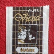 Sobres de azúcar de colección: SOBRE AZÚCAR PACKET PACKAGE OF SUGAR SUCRE ZUCKER ZUCCHERO VACÍO CAFÉS VIENA COFFEE, EMPTY VER FOTOS. Lote 261246200