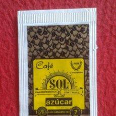 Sobres de azúcar de colección: SOBRE AZÚCAR PACKET PACKAGE OF SUGAR SUCRE ZUCKER ZUCCHERO VACÍO CAFÉ SOL LAS PALMAS GRAN CANARIA.... Lote 261261235