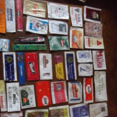 Sobres de azúcar de colección: LOTE SOBRES DE AZÚCAR VACIOS NACIONALES E EUROPEOS. Lote 263115280