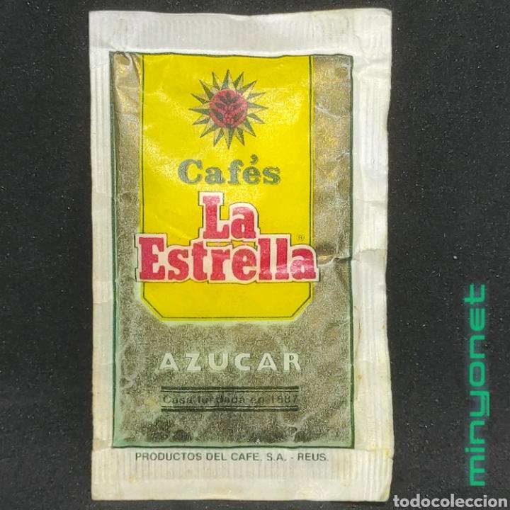Sobres de azúcar de colección: Sobre de azúcar Serie plantas medicinales - Menta Poleo. Cafés La Estrella. Productos del Cafe. 10 g - Foto 2 - 268587979
