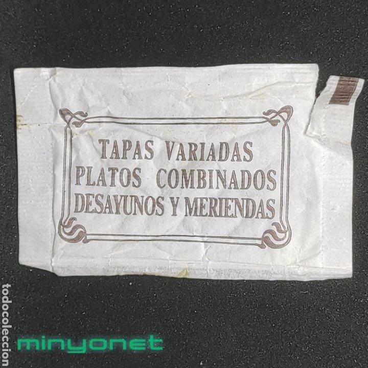Sobres de azúcar de colección: Sobre de azúcar de Cal Tomàs de Terrassa, 8 gr. Años 90 - Foto 2 - 269047378