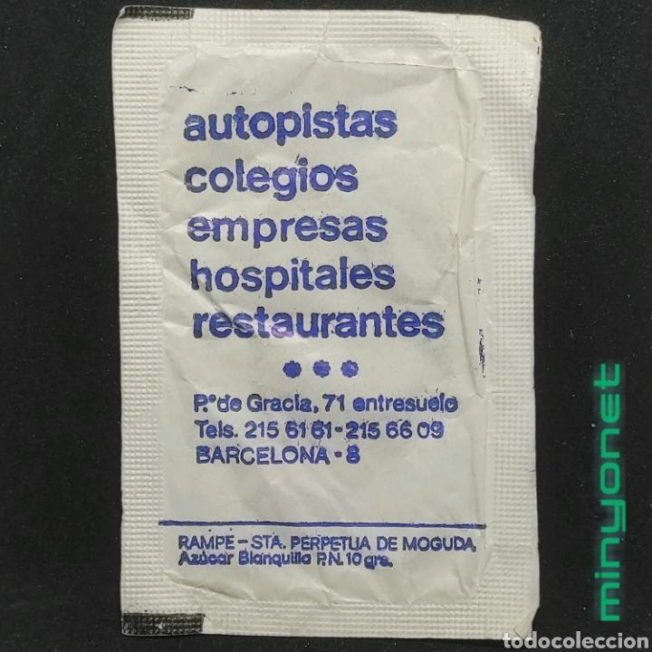 Sobres de azúcar de colección: Sobre de azúcar de Jacques Borel, años 80 - Foto 2 - 269048373