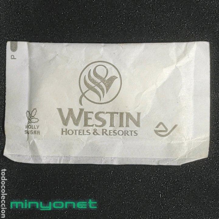SOBRE DE AZÚCAR DE WESTIN HOTELS & RESORTS (USA) . HOLLY SUGAR (Coleccionismos - Sobres de Azúcar)