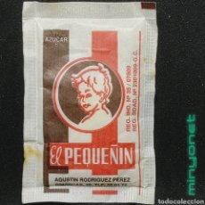 Sobres de azúcar de colección: SOBRE DE AZÚCAR EL PEQUEÑÍN. A. RODRÍGUEZ, 10 GR.. Lote 269051233