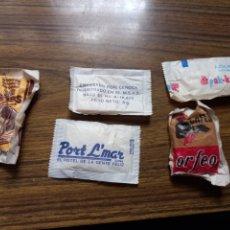 Sobres de azúcar de colección: LOTE SOBRES DE AZUCAR AÑOS 80. Lote 270144653