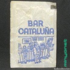 Sobres de azúcar de colección: SOBRE DE AZÚCAR BAR CATALUÑA, TERRASSA, BARCELONA. RUBIO, 10 GR. AÑOS 80. Lote 270533203