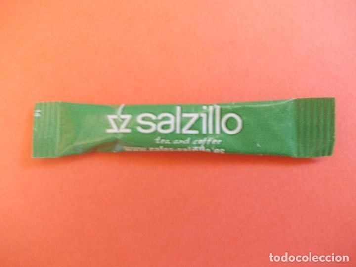 AZUCARILLO SACARINA SALZILLO (Coleccionismos - Sobres de Azúcar)
