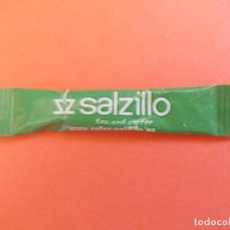 Sobres de azúcar de colección: AZUCARILLO SACARINA SALZILLO. Lote 275056123
