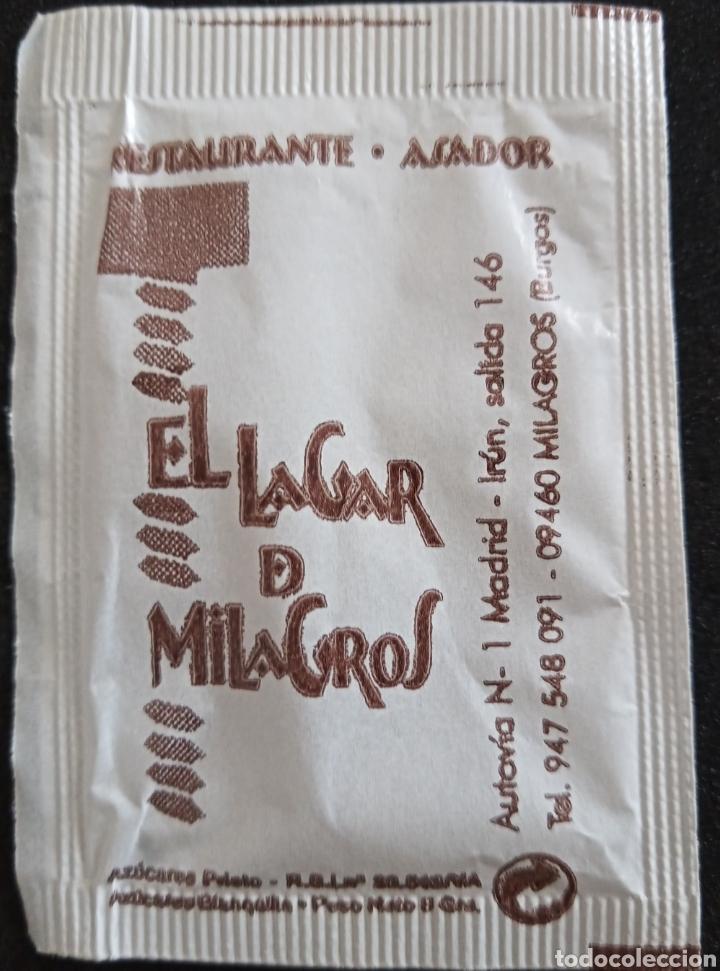 Sobres de azúcar de colección: SOBRE DE AZÚCAR HOTEL MILAGROS - Foto 2 - 276138118