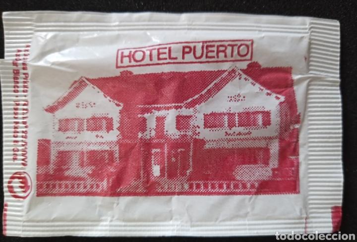 SOBRE DE AZÚCAR HOTEL PUERTO. SOMOSIERRA (Coleccionismos - Sobres de Azúcar)