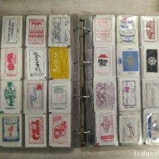 Sachets de sucre de collection: ÁLBUM CON UNOS 540 ENVOLTORIOS DE AZUCAR DIFERENTES.. Lote 277494083