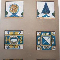 Sobres de azúcar de colección: LIBRILLO MUSEUM ARQUEOLOGICO 1929. LA ENREJOLADA. MARTORELL. CON FOTOS. AZULEJOS. Lote 285291528