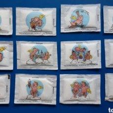 Sobres de azúcar de colección: 12 SOBRES DE AZÚCAR DE COLECCIÓN CON ÁNGELES Y CUPIDOS. LEER DESCRIPCIÓN ANTES DE PUJAR O COMPRAR.. Lote 287146518