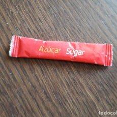 Sobres de azúcar de colección: SOBRE DE AZÚCAR VACÍO DE PUBLICIDAD, TRANSPORTE AÉREO IBERIA.. Lote 287797248