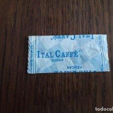 Sobres de azúcar de colección: SOBRE DE AZÚCAR VACÍO DE PUBLICIDAD, ITAL CAFFÈ.. Lote 289747083