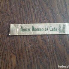 Sobres de azúcar de colección: SOBRE DE AZÚCAR VACÍO DE PUBLICIDAD, AZÚCAR MORENO DE CAÑA.. Lote 293813593