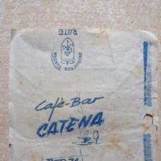 Sobres de azúcar de colección: ANTIGUO ENVOLTORIO DE TERRÓN DE AZÚCAR.. Lote 294946248