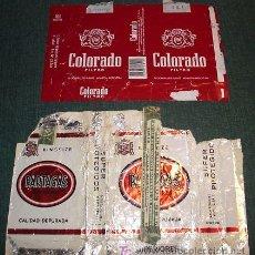 Paquetes de tabaco: TABACO CAJETILLAS CIGARRILLOS. Lote 4408103