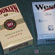 Paquetes de tabaco: CAJETILLAS VACIAS CIGARRILLOS TABACO. Lote 25777131