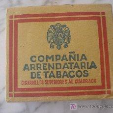 Paquetes de tabaco: PAQUETE DE TABACO, AÑOS 40-50 TOBACCO PACKAGE, YEARS 40-50 . Lote 26286638