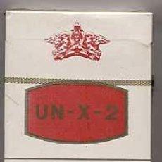 Paquetes de tabaco: PAQUETE TABACO UN - X - 2 CON FILTRO. PRECINTADO. CIGARRILLOS RUBIOS. TABACALERA. Lote 22911617