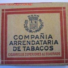Paquetes de tabaco: PAQUETE DE 20 CIGARRILLOS CON ESCUDO REPUBLICANO.. Lote 11098775