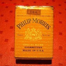 Paquetes de tabaco: ANTIQUISIMO PAQUETE DE PHILIP MORRIS. Lote 30296644