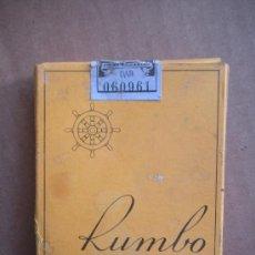 Paquetes de tabaco: PAQUETE DE TABACO RUMBO VACIO. Lote 26784951