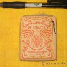 Paquetes de tabaco: PICADO ENTREFINO 25 GR PAQUETE DE TABACO PICADO COMPAÑIA ARRENDATARIA DE TABACOS. Lote 26397548
