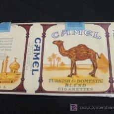 Paquetes de tabaco: ENVOLTORIO TABACO - CAMEL - TURKISH & DOMESTIC BLEND CIGARETTES. Lote 22160631