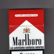 Paquetes de tabaco: CAJETILLA VACÍA DE MARLBORO. Lote 235616775