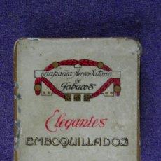 Paquetes de tabaco: TABACO CAJA DE CHAPA ELEGANTES . Lote 16567915