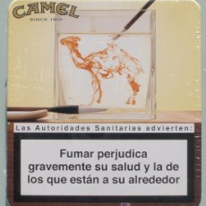 Maços de tabaco: CAMEL: LATA DE 20 CIGARRILLOS LLENA, SIN ABRIR, DE LA SERIE INK, ESPAÑA, 2009 - CLC. Lote 102170388