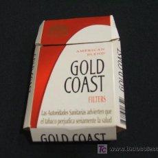 Maços de tabaco: ENVOLTORIO TABACO - GOLD COAST - AMERICAN BLEND FILTERS -. Lote 25176376