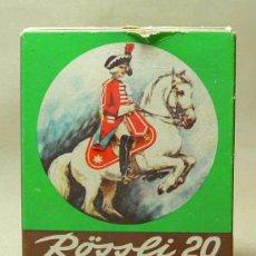 Paquetes de tabaco: PAQUETE, 5 PUROS, ROSSLI 20, BRASIL. Lote 18913331