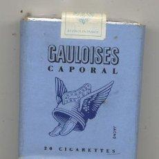 Paquetes de tabaco: ANTIGUO PAQUETE DE TABACO /// GAULOISES CAPORAL . Lote 20907063