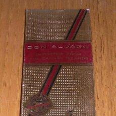 Paquetes de tabaco: DON ÁLVARO - CAJA DE 5 PANELETAS - ORIGINAL MEDIADOS AÑOS 80. Lote 42687665
