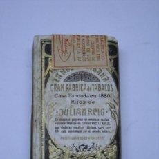 Paquetes de tabaco: ANTIGUO PAQUETE PICADURA TABACO HIJOS DE JULIAN REIG, LA HABANA. SIN ABRIR. 8X12CMS . Lote 21631786