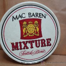 Paquetes de tabaco: ANTIGUA LATA DE TABACO PIPA - MAC BAREN MIXTURE SCOTTISH BLEND - 100GRS . Lote 22276735