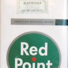 Paquetes de tabaco: CIGARRILLOS RED POINT DE ARGENTINA. Lote 42323000